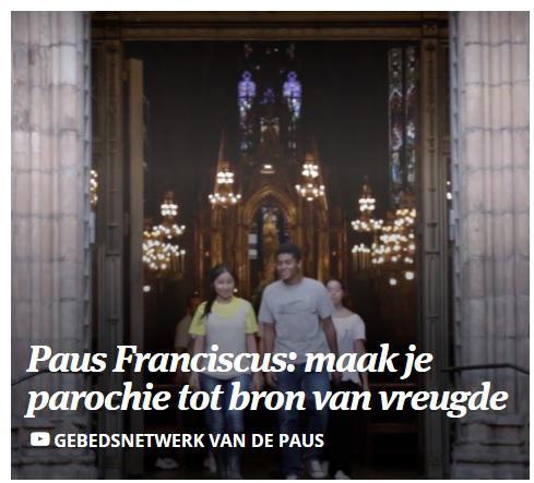 Gebedsnetwerk van de paus