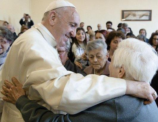 Paus en de werelddag voor grootouders en senioren © Kerknet