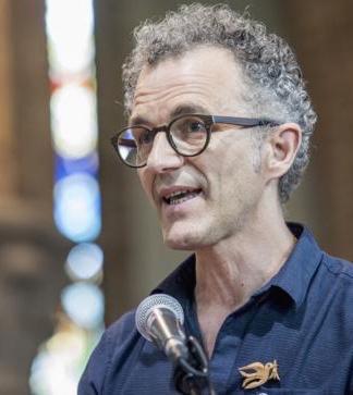 Peter Peene, bezieler van Wakker voor Vrede. © Kerknet