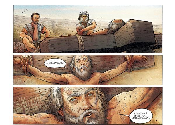 Het stripverhaal 'Sint-Pieter' © ed. Glénat