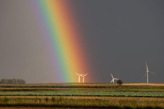 regenboog © pexels