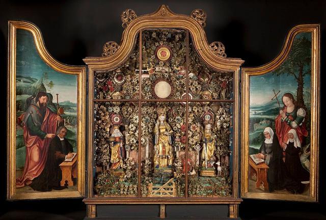 Een van de zeldzame Besloten Hofjes van de Gasthuiszusters-Augustinessen © Illuminare