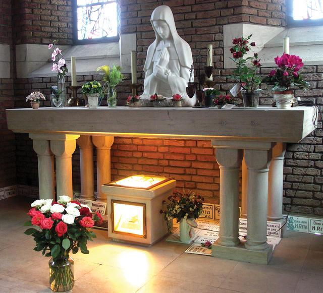 Altaar in de Heilige-Ritakapel