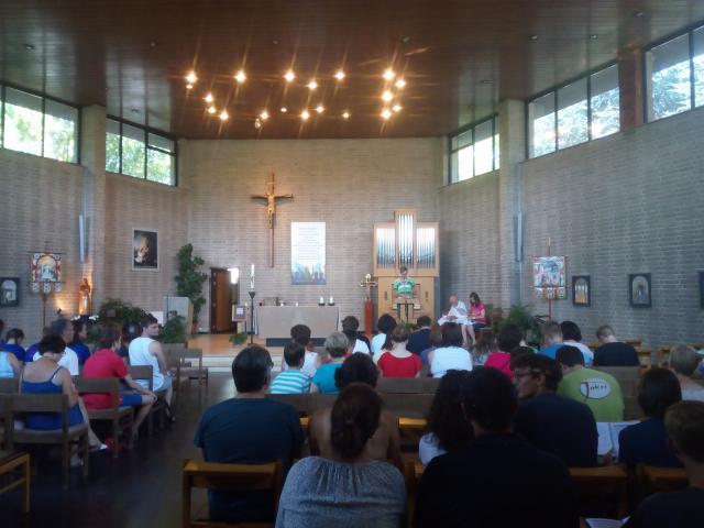 Zendingsviering in de kerk
