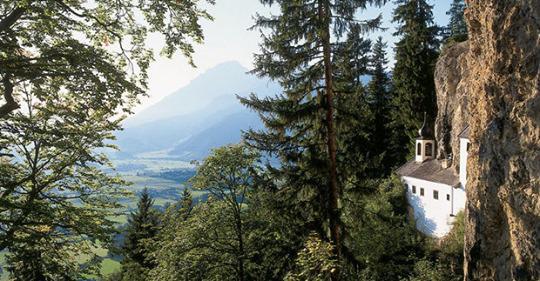 De kluizenaarshut in Saalfelden © Toeristische Dienst Saalfelden Leogang