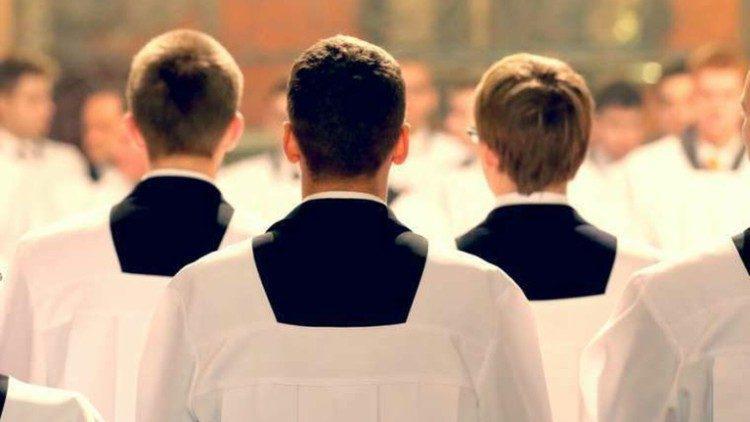 Seminaristen © Vatican Media