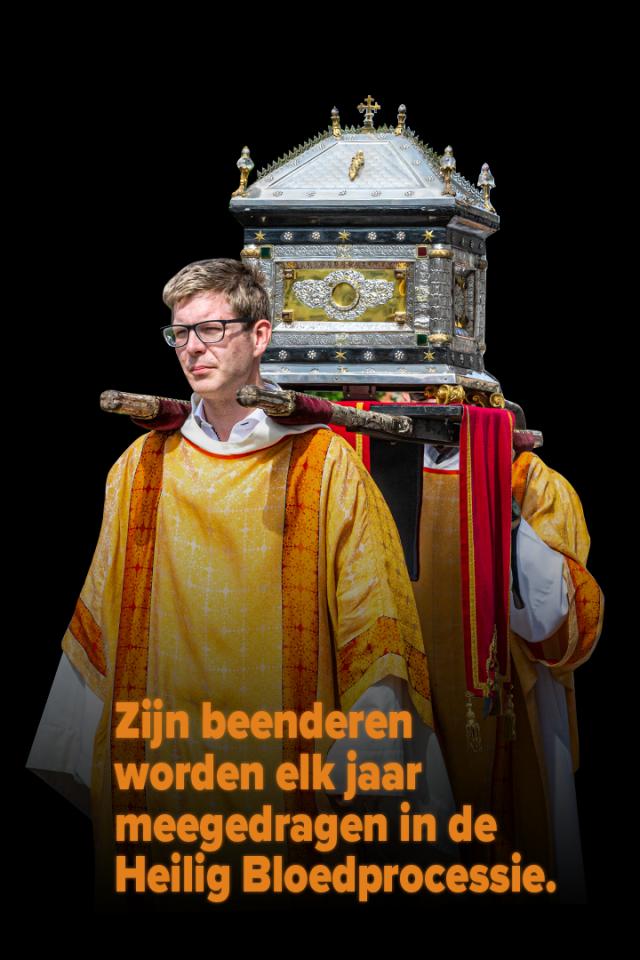 Reliekschrijn Sint-Donatius © Foto Heilig Bloedprocessie vzw, Frank Toussaint