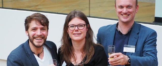 Theoloog van het jaar 2016 Janneke Stegeman (r)  Foto:  Marjan Okkerman
