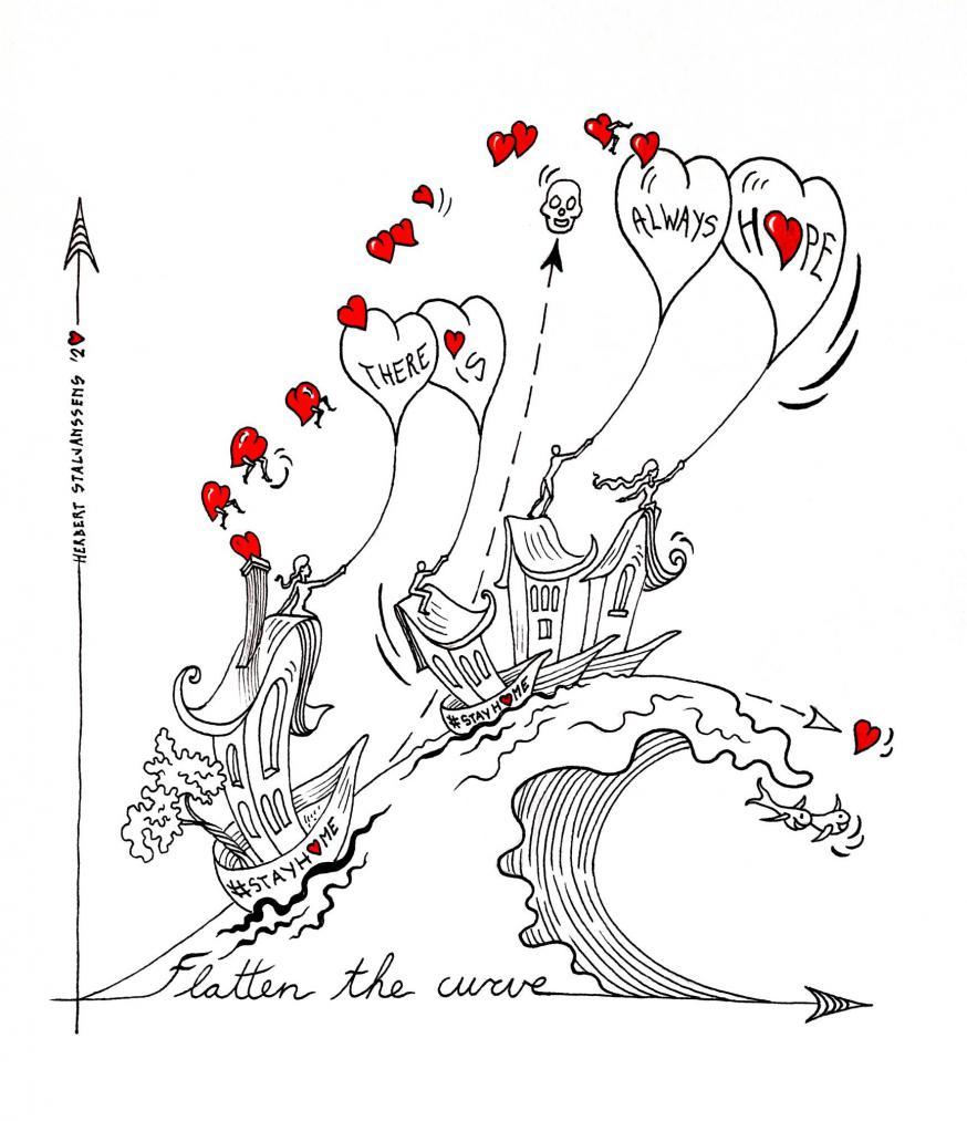 Cartoons van een creatieve leraar…