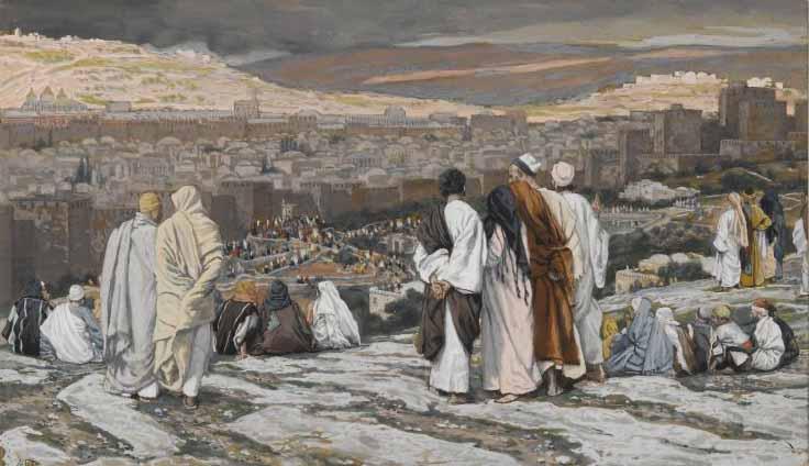 De apostelen verlaten hun schuilplaatsen © Jacques-Joseph Tissot (1836-1902)