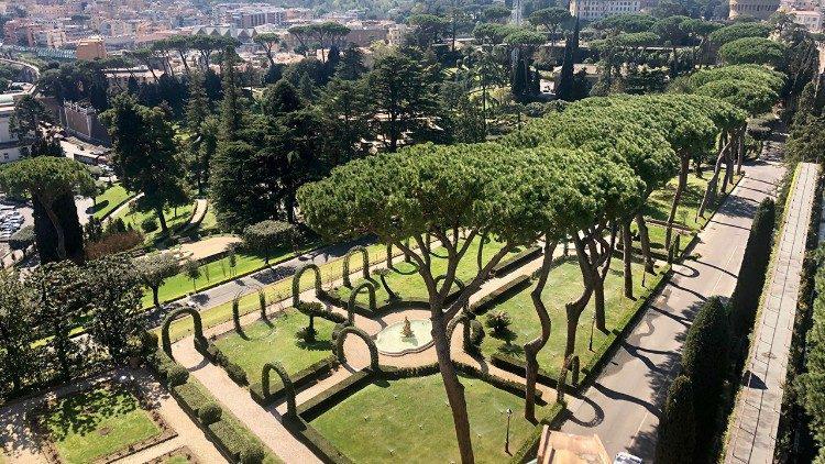 De tuinen van Vaticaanstad © Vatican Media