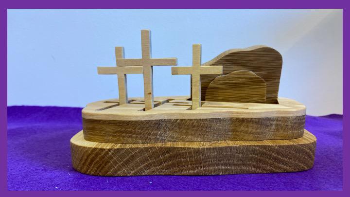 Godly Play - Jezus en Jeruzalem (Goede Week). © Joke Vermeire