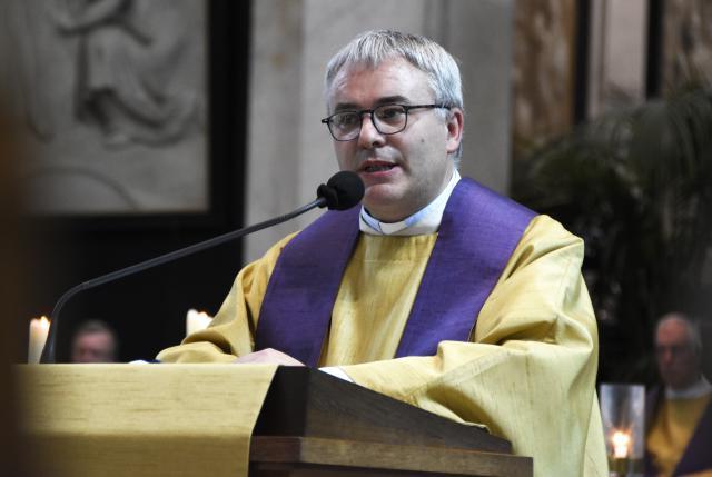 Dankwoord vic-gen Bruno Aerts, voorzitter Caritas © Maîtrise