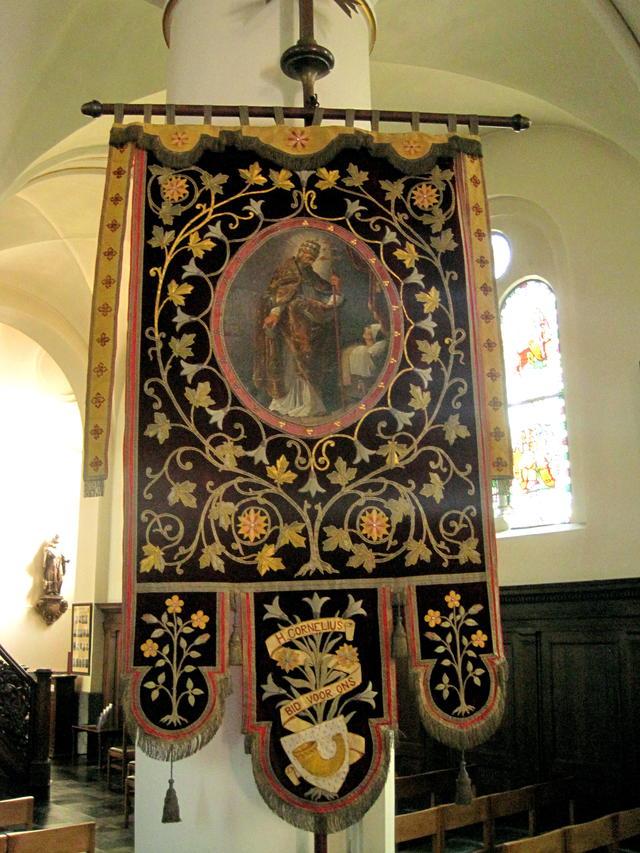 vaandel van de Heilige Cornelius