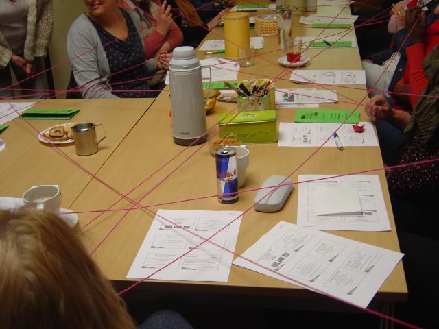De Schakel Puurs tijdens een sessie over knelpunten in de strijd tegen armoede. © De Schakel