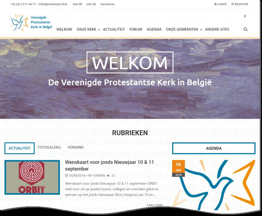 Verenigde Protestantse Kerk in België © nl.protestant.link