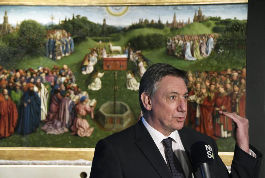 Vlaams minister-president Jan Jambon © Sint-Baafskathedraal, foto: Maîtrise