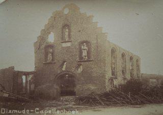 de kapel tijdens WOI
