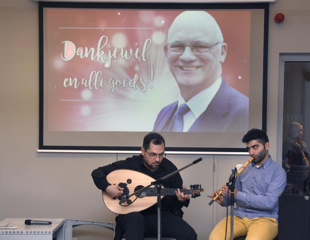 Syrische muzikanten van WAJD © M