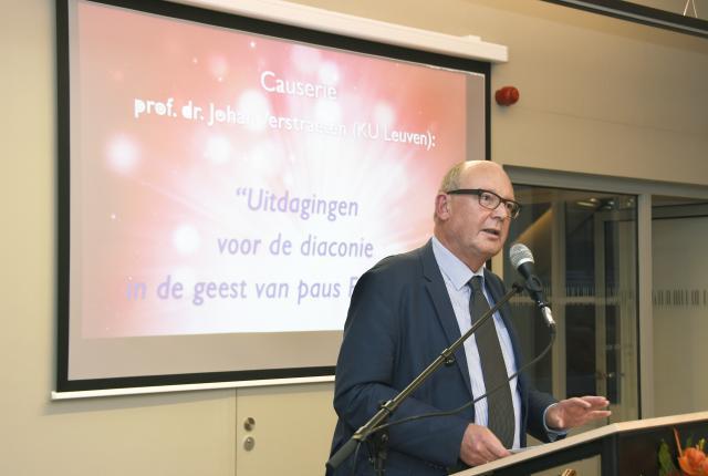 Prof Johan Verstraeten © Maîtrise
