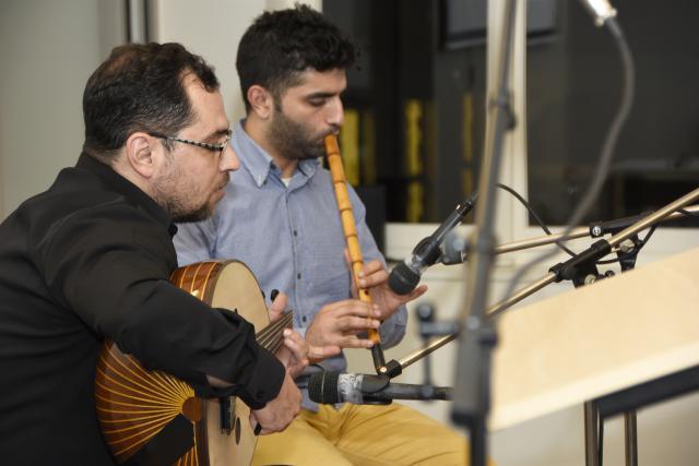 Syrische muzikanten van WAJD © Maîtrise