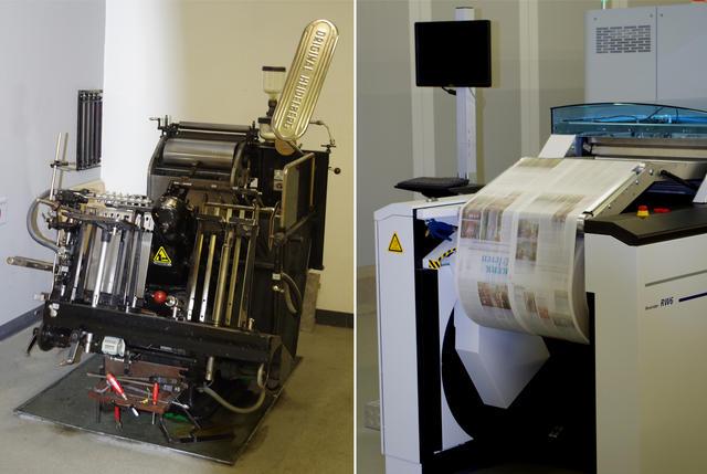 Drukkerij Halewijn heeft de technische evolutie gevolgd!