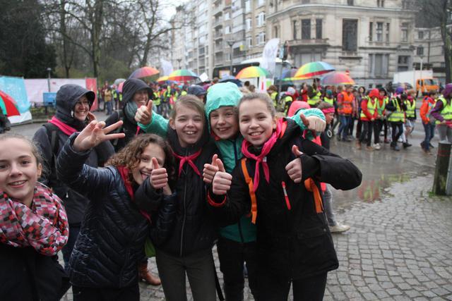 Ruim 1500 vormelingen namen deel aan de Vormelingendag in Antwerpen © IJD Antwerpen