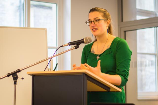 Charlotte Braeckeveldt © Bisdom Gent, foto: Karel Van de Voorde