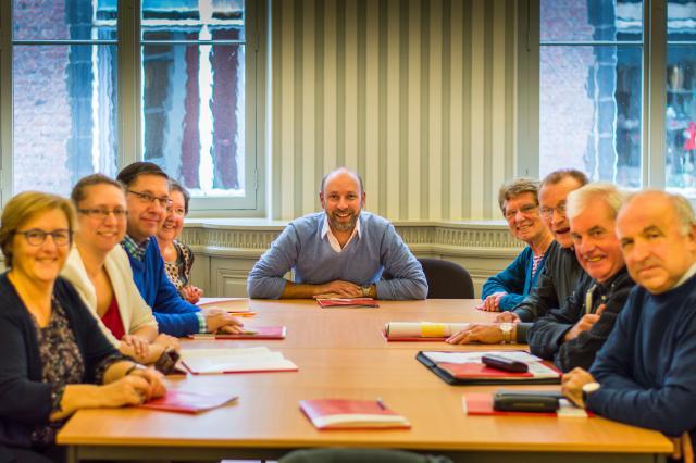 dekenale ploeg Lokeren © Bisdom Gent, foto: Herbert Vandersmissen