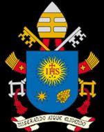Wapenschild van paus Franciscus © VaticanMedia