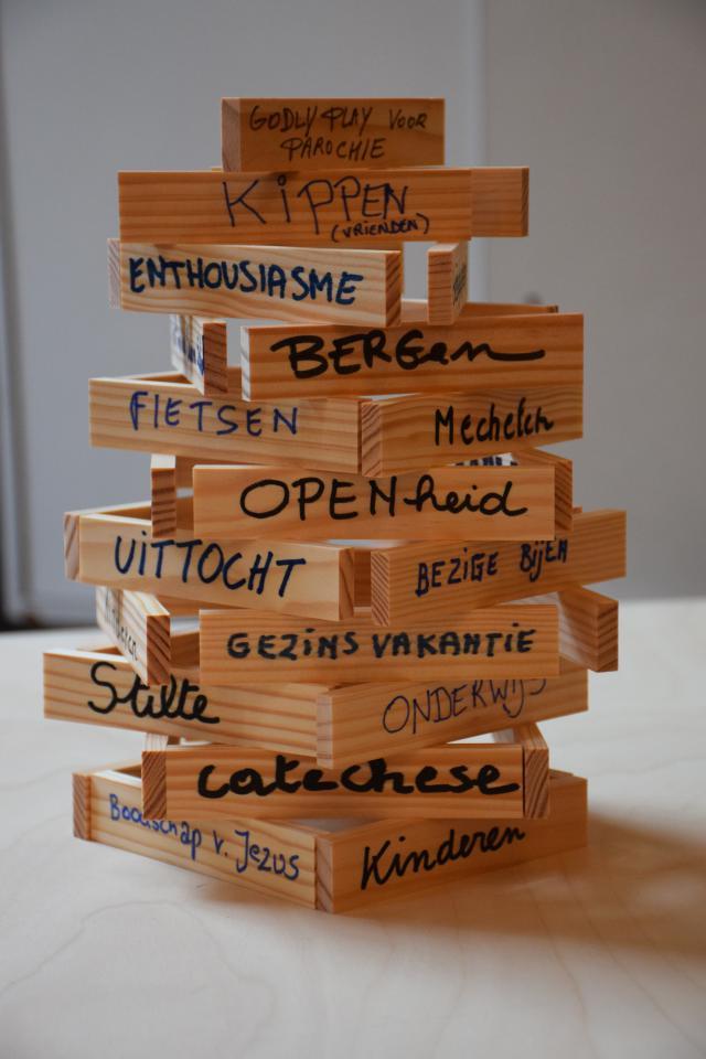 Wat Godly Play vertellers verbindt © Hilde Pex