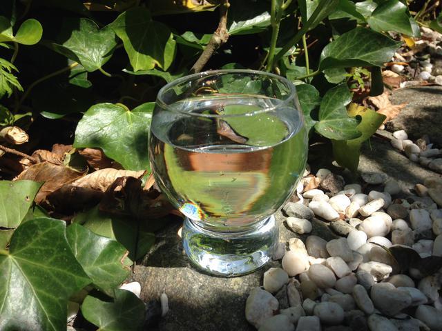 Damp, vloeistof en ijs. Alle 3 zijn vormen van 1 zelfde substantie: water. © LW