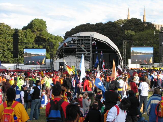 wereldjongerendagen Sydney 2008