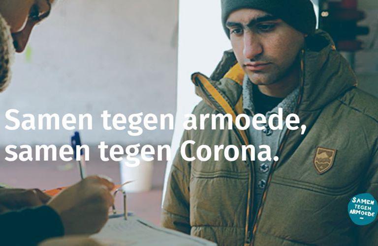Mensen op de vlucht blijven in de relancemaatregelen na Corona onzichtbaar of afwezig. © Samen tegen Armoede