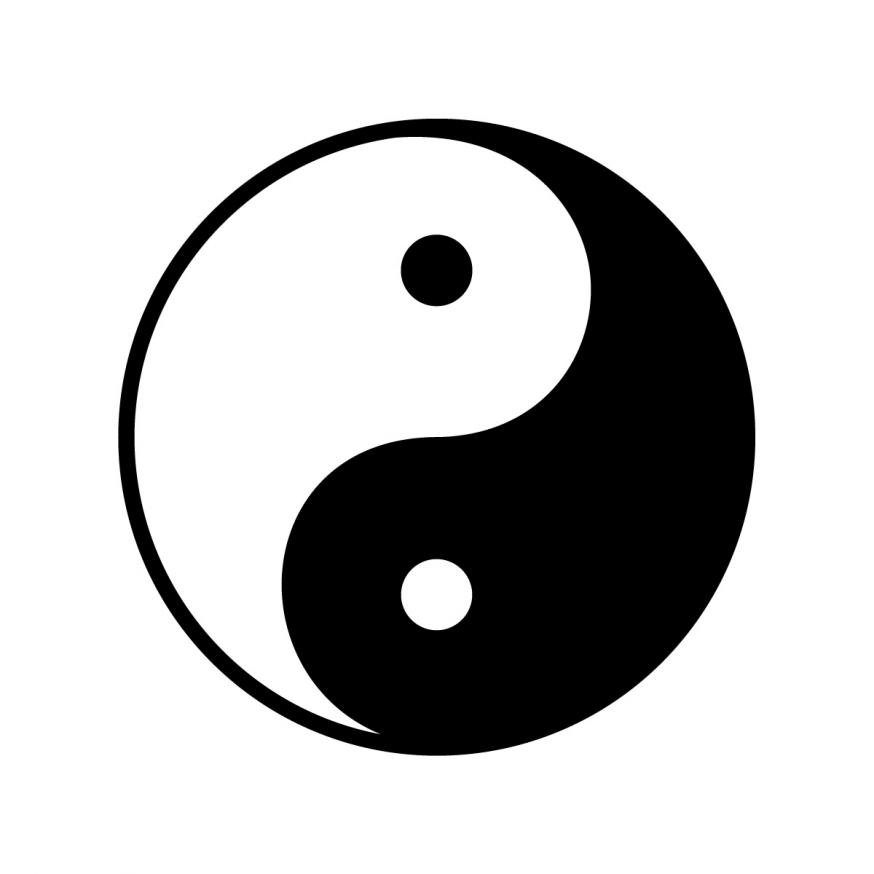 Yin-Yang symbool © Relevant