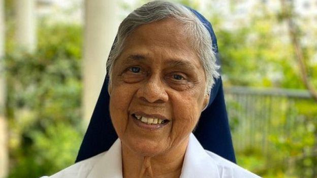 Zuster Fernandez begeleidt terdoodveroordeelden in Singapore en is een van de 100 vrouwen van BBC 2019.  © BBC