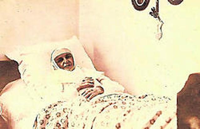 Zuster Rumolda, franciscanes uit Herentals.