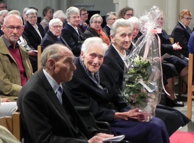 zuster Rachel Van Nieuwenhuyse 105 jaar © Eric Dejonghe