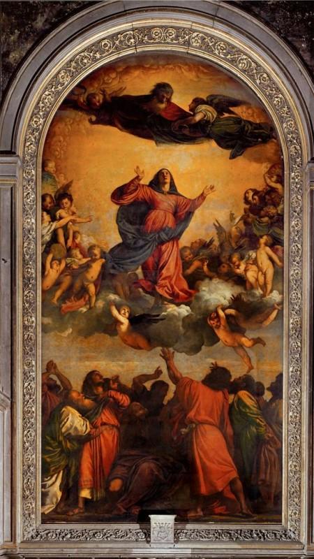 Maria tenhemelopneming (Titian)