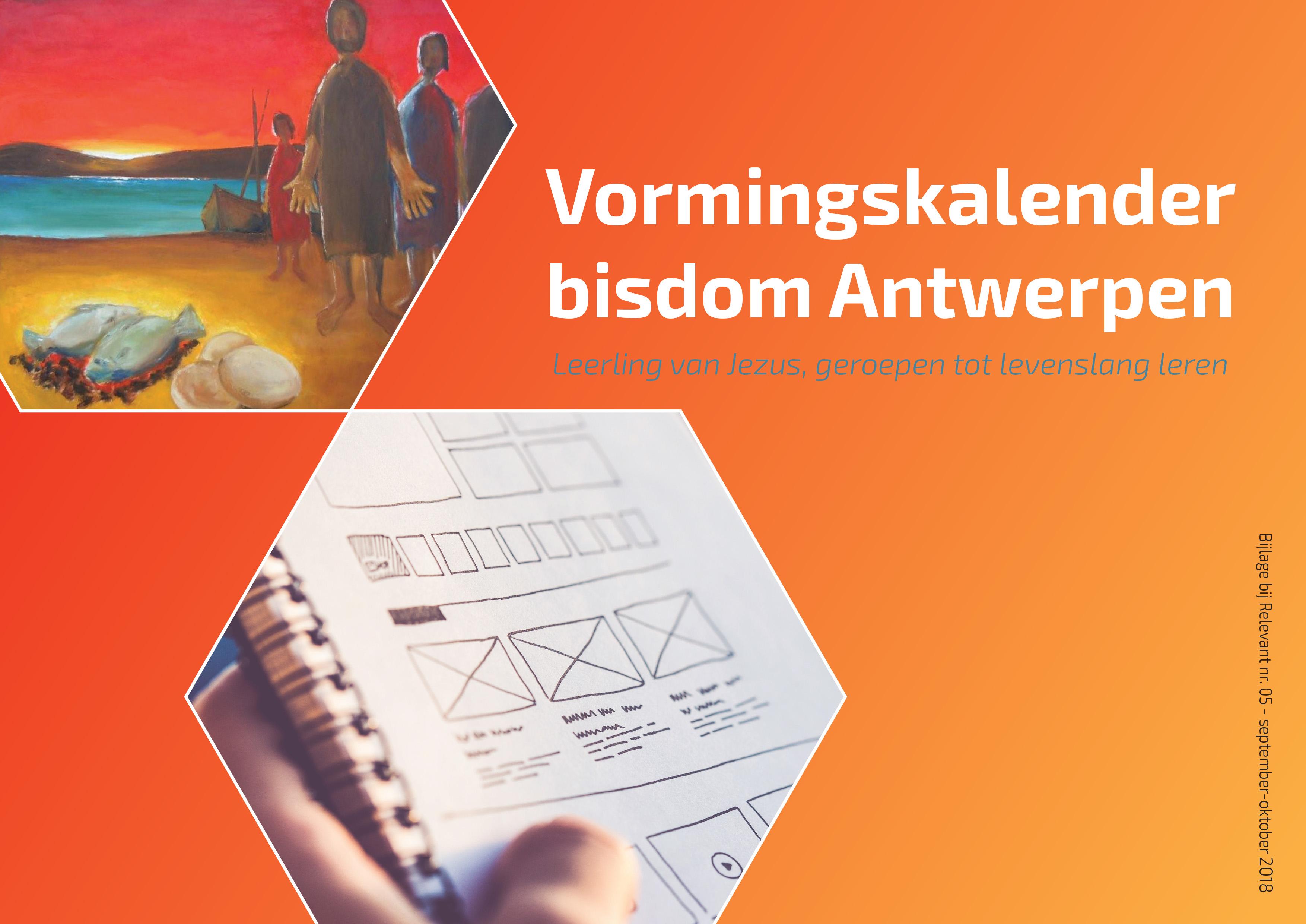 Vormingskalender bisdom Antwerpen © vicariaat diocesane diensten Antwerpen