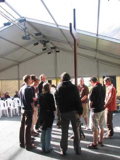 WJD Sydney 2008 - WJD-kruis