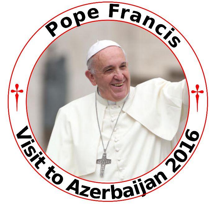 © Persdienst pausbezoek Azerbeidzjan