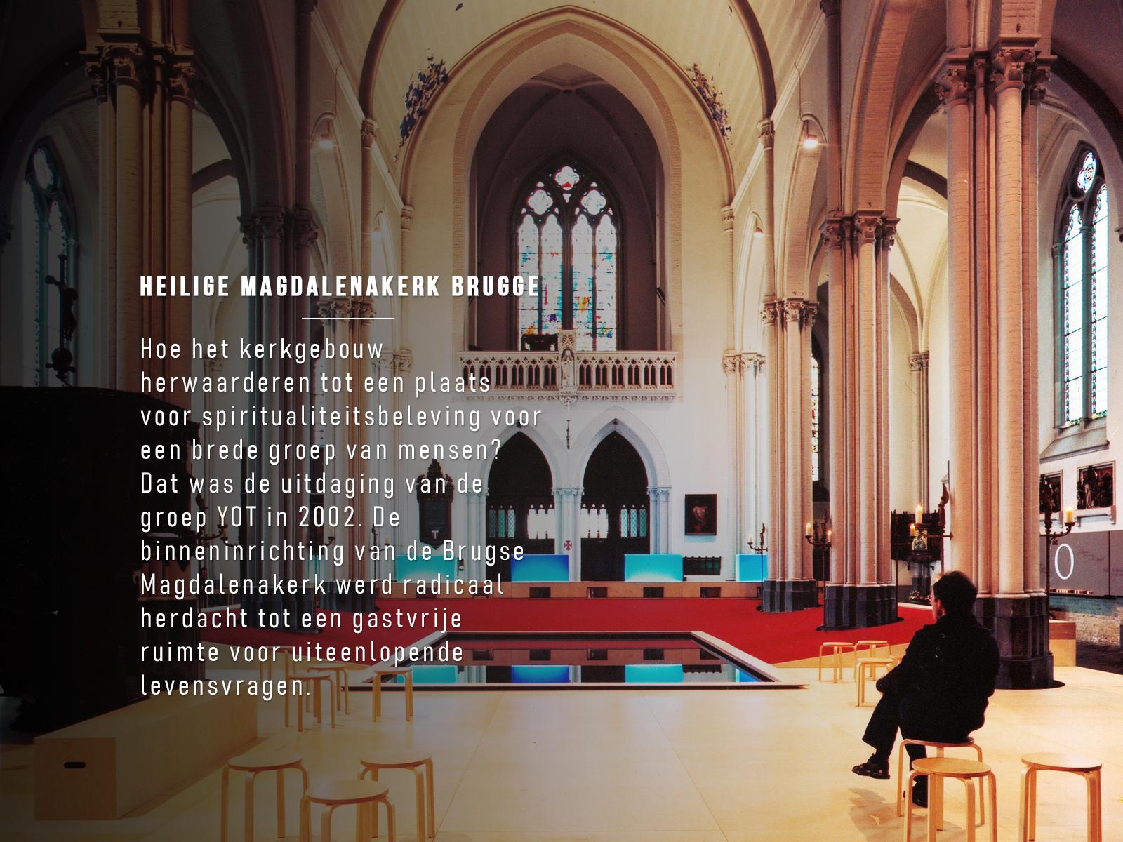 Heilige Magdalenakerk Brugge © Foto Yot vzw