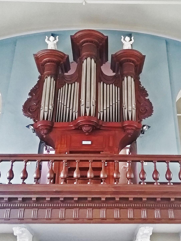 Het orgel van Sint-Pietersbanden © Vlaamse Gemeenschap